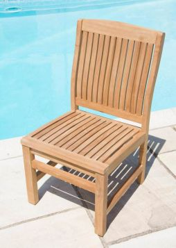 Marley Solid Teak Garden Chair