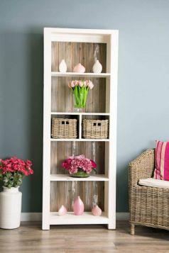Reclaimed Pine Coastal Bookcase