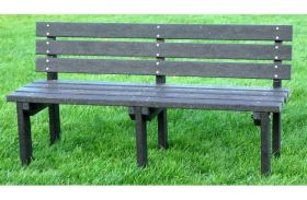Recycled Plastic Bench Heavy Duty