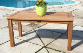 Teak Garden Coffee Table Rectangular