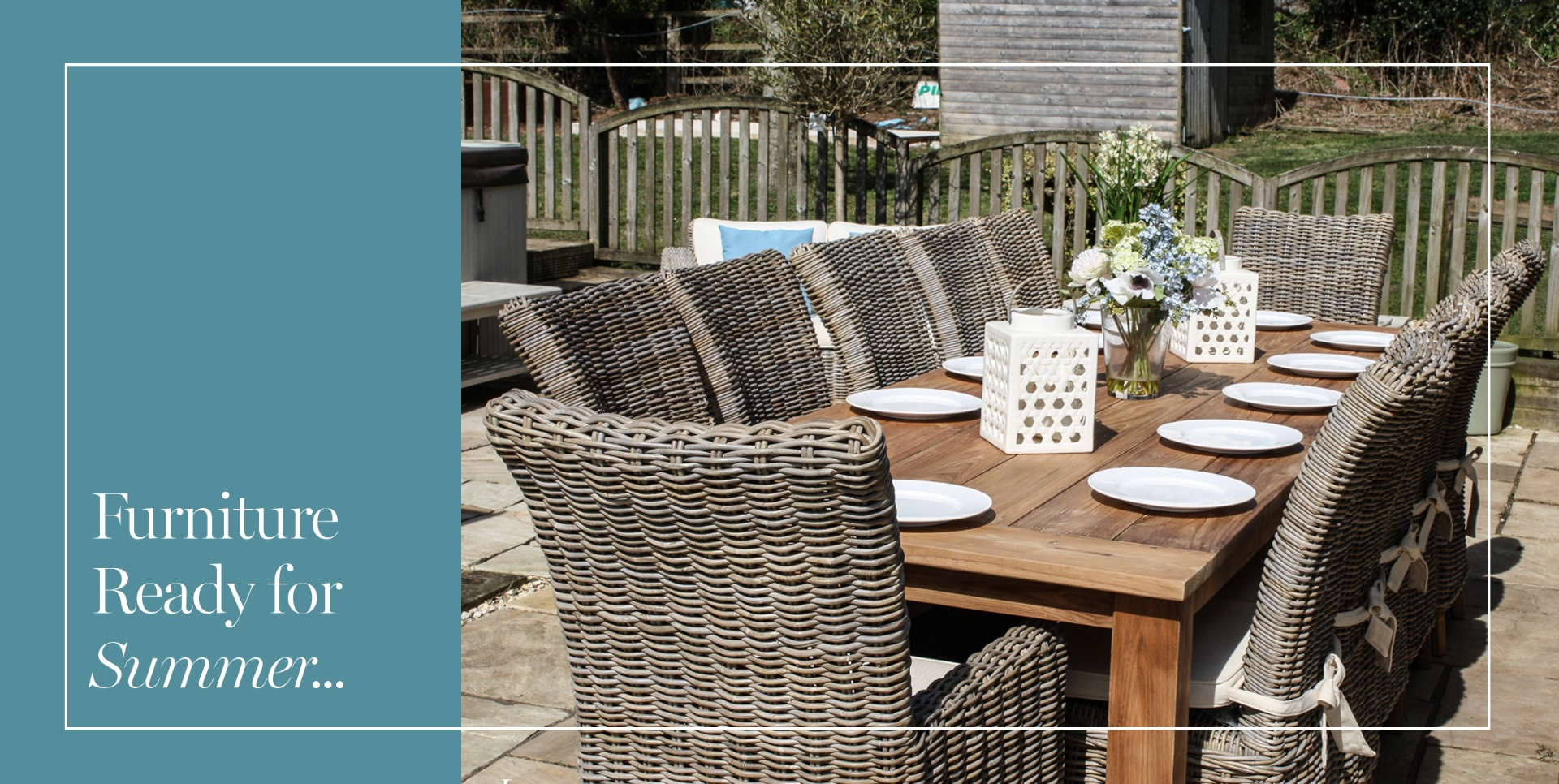 Luxury Reclaimed Outdoor Sets